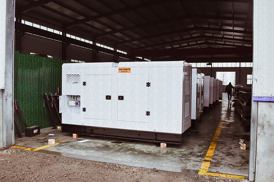 Deutz CE ISO Approved Weichai Genset 100kw / 125kva Water Cooling WP4D108E200